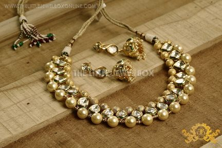 Rich golden, kundan ,jewllery,necklace,